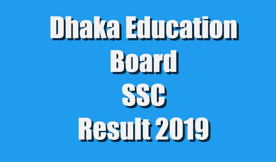 SSC Result 2019 Dhaka Education Board - SSCResultBD XYZ
