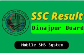 SSC Result 2020 Dinajpur Board by SMS