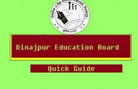 Dinajpur Board SSC Result 2020 Online