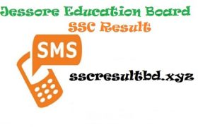 SSC Result 2020 Jessore Board by SMS