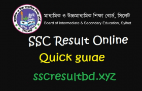 SSC Result 2020 Sylhet Board Online with Marksheet